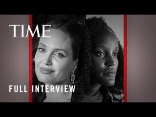 Angelina Jolie and Vanessa Nakate | TIME100 Talks