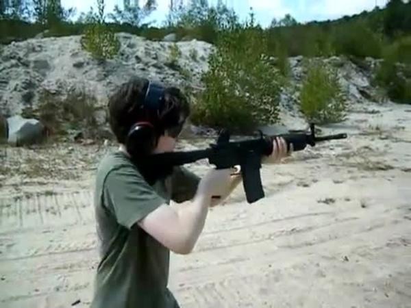 Colt M16 M4 Carbine Full Auto Mag Dump