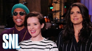 Claire Foy Unveils Her Real Accent - SNL