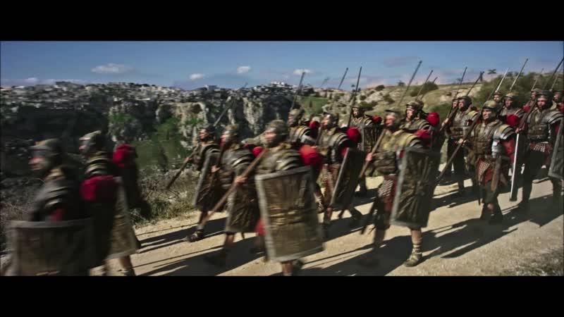 Римские легионеры входят в Иерусалим Бен Гур 2016