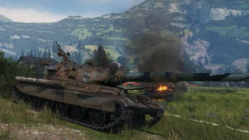 World of Tanks 60TP Lewandowskiego 10 Kills 10 2K Damage 720p