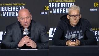 UFC 256: Лучшие моменты пресс-конференции