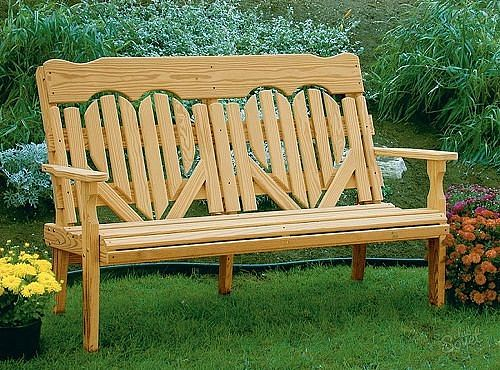 Красивая скамейка своими руками в эко стиле!