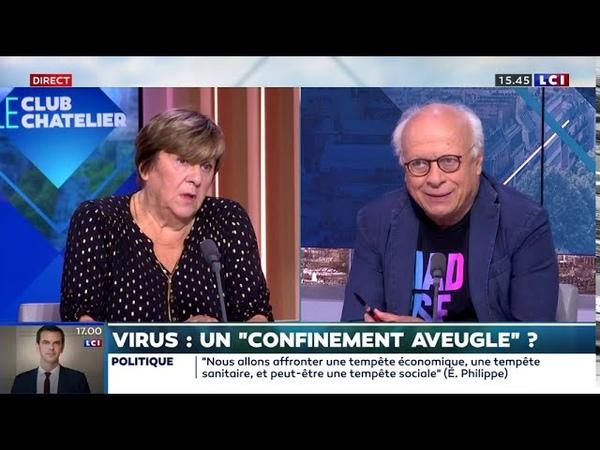 Dr Nicole DELEPINE infiltrée par Bercoff sur LCI Grosse chaleur pour Miss Le Chatelier en panique