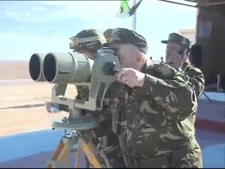 Algerian army recent drills near libya borders 1-2