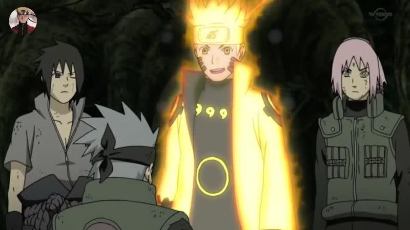 Naruto Awakens Six Paths and Fights Madara Naruto and Sasuke vs Six Paths Madara Full Fight