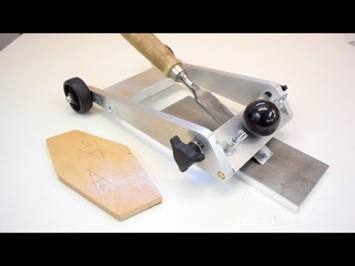 Make this AWESOME Precision Sharpening Jig out of Aluminium