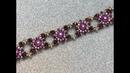 Purple Rain Bracelet 💎 beadedbracelet beadingbracelet