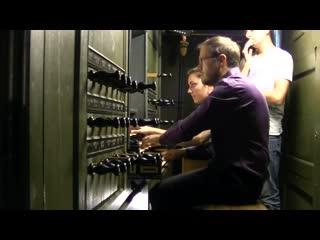 1043 J. S. Bach - Concerto in D minor [for Two Violins], BWV 1043 - Anne-Galle Chanon Pieter-Jelle de Boer, organ