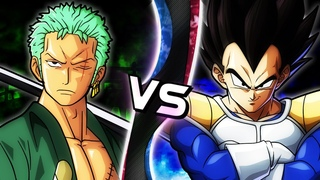 ZORO VS VEGETA! (One Piece VS Dragon Ball Sprite Animation) | Limit Break: Showdown
