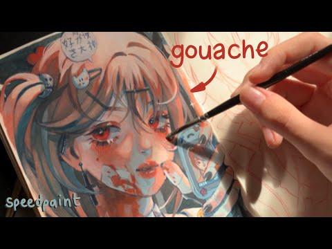 ✧ cómo pintar con gouache ✧ consejos speedpaint arteza gouache