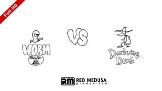 Animated Versus - Worm VS Darkwing Duck FullHD