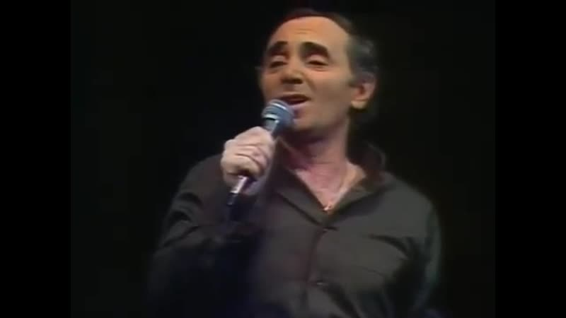 Charles Aznavour Un corps