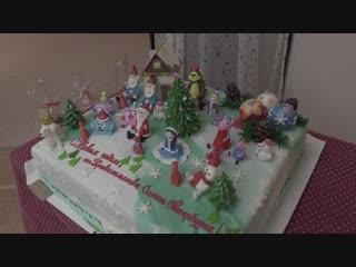 Вице-губернатор СПб Михаил Кучерявый поздравил с наступающим Новым годом и Рождеством воспитанников колпинского детского дома