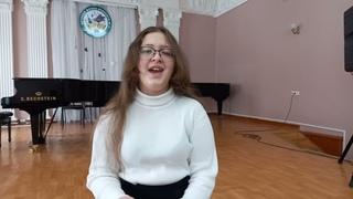 Давлетшина Ева Альберта, 13 лет, г.Октябрьский,Детская школа искусств,«Солист» (эстрадный вокал),13-16 лет