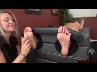 So cruel feet and armpits tickle
