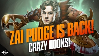 Zai Pudge is Back & His thoughts about the Current Patch | Dota 2