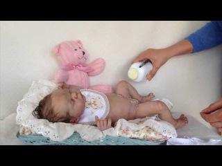 """Силиконовая девочка """"Lucy-Jo"""" от Thistleberry Babies"""