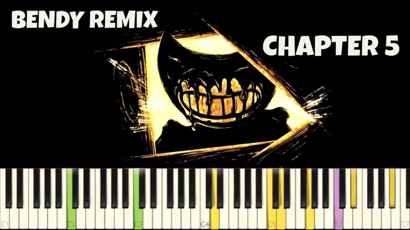Bendy And The Ink Machine Chapter 5 Theme NPT MUSIC Remix End Theme Piano Cover