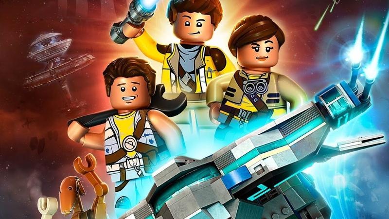 LEGO STAR WARS Приключения изобретателей - мультфильм Disney для детей | Сезон 1, Серия 1
