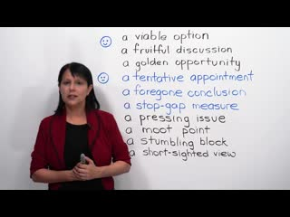 Upgrade your English: 10 Advanced Business Expressions (Learn English with Rebecca) [engVid] (transcript + quiz)