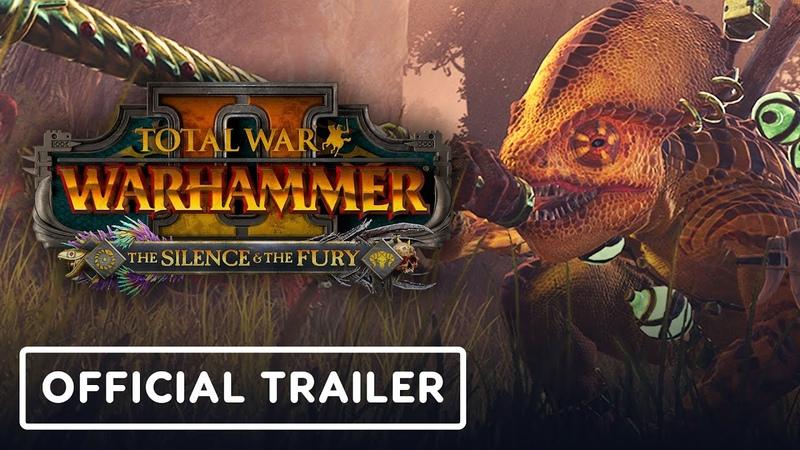 Total War Warhammer 2 The Silence The Fury DLC Official Trailer