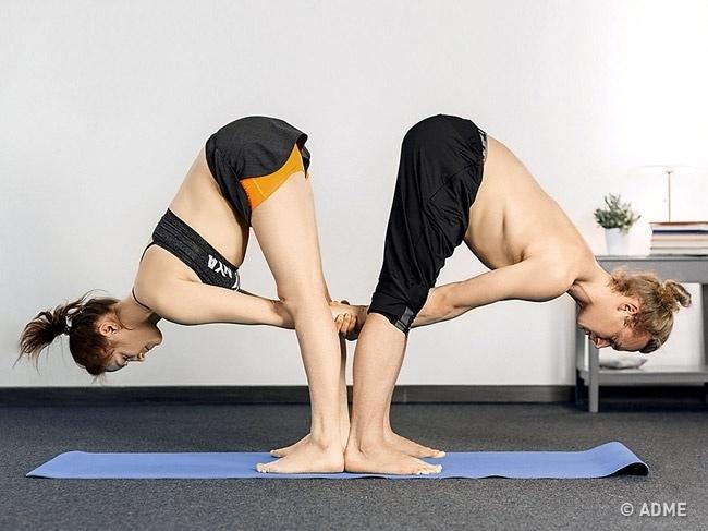 Парная йога — обязательно попробуйте, изображение №4