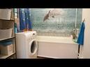 Дизайн и ремонт ванной комнаты своими руками Пластиковые панели с рисунком