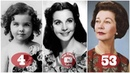 Vivien Leigh | Transformation From 1 To 53 Years Old