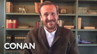 #CONAN: Jason Segel Full Interview - CONAN on TBS