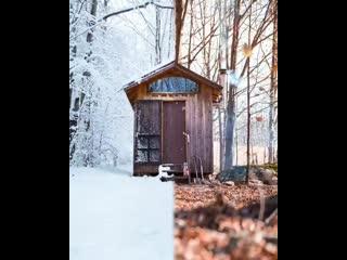 Как красиво смотрится. Что вы больше любите, зиму или осень?