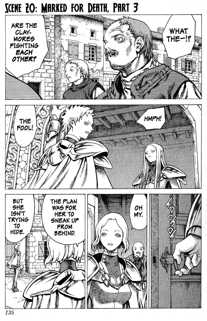 Claymore, Chapter 20, image #1