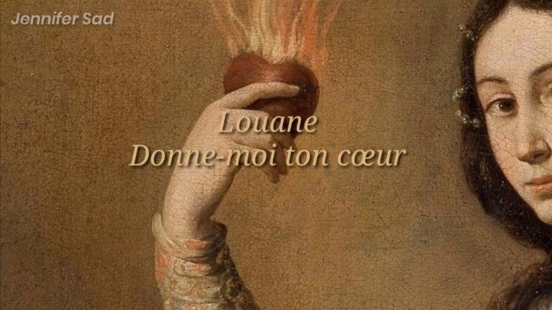 Louane Donne moi ton cœur「Sub Español Lyrics 」