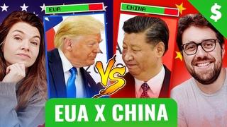 EUA VS CHINA DE QUE LADO A GENTE FICA?   #OCALLDAQUARTA