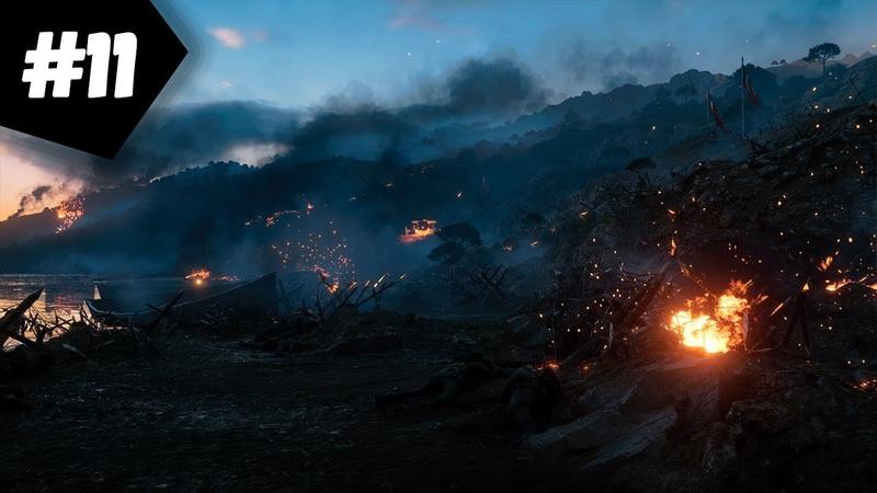 Прохождение Battlefield 1 BF1 Часть 11 Посыльный Мыс Геллес