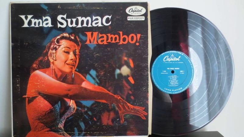 Yma Sumac Mambo 1955 Latin Folk Jazz Exotica