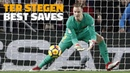 Сэйвы Тер Штегена BEST SAVES | Ter Stegen