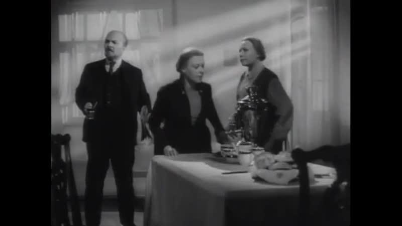 фильм Рассказы о Ленине 1957 online video Ленин извинился перед Ефросинией Ивановной