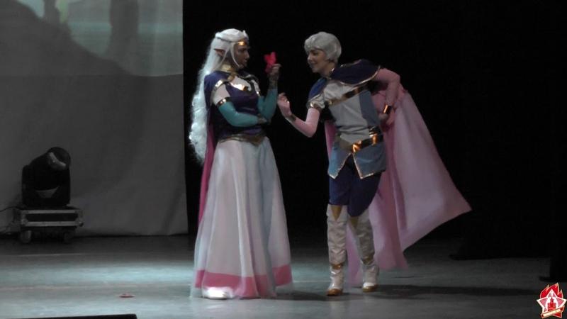 Shibuya 22 2019 Вольтрон: Легендарный защитник - принцесса Аллура, принц Лэнс