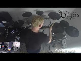 BORN OF OSIRIS - Cameron Losch - White Nile (Drum Playthrough)