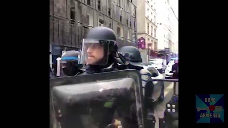 French Yellow Vests Protest Playing Evangelion Theme but Not Really