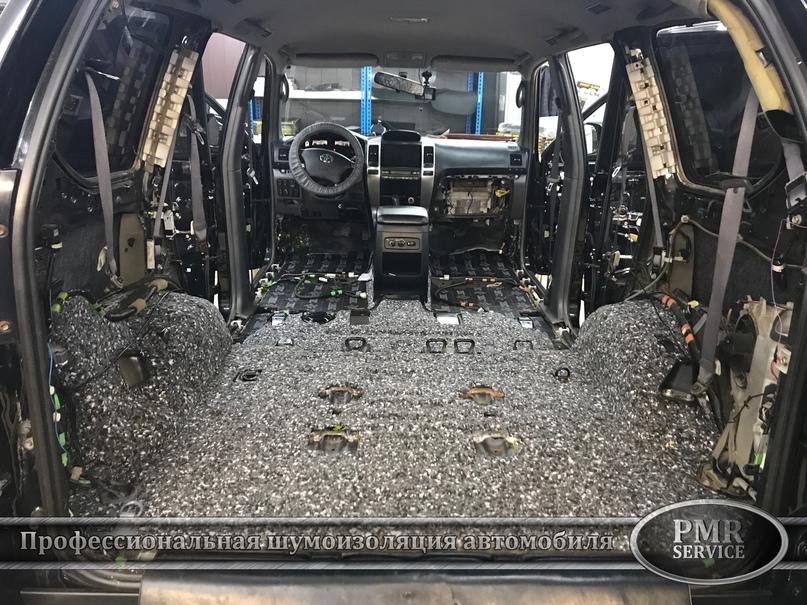 Комплексная шумоизоляция Toyota Land Cruiser 120, изображение №16