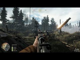 Verdun Gameplay (PC UHD) [4K60FPS]