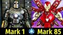 ✅ Все Костюмы Железного Человека Марк 1 - Марк 85 ! Детальный Разбор 🔥!