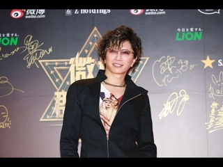 GACKTが微博(Weibo)主催アワードのレッドカーペットに登場!
