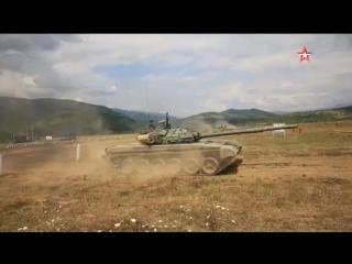 В Южной Осетии в танковых учениях приняло участие более полутора тысяч человек