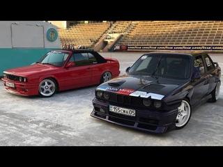 Обзор двух проектов BMW E30   модная классика или боевой корч на турбе