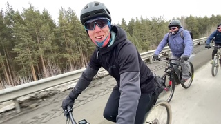 Весенняя вело покатушка с клубом Крути педали 2021 года.