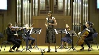 Karina Arutyunian performs INTRODUCTION, THEME & VARIATIONS by C. M. von Weber