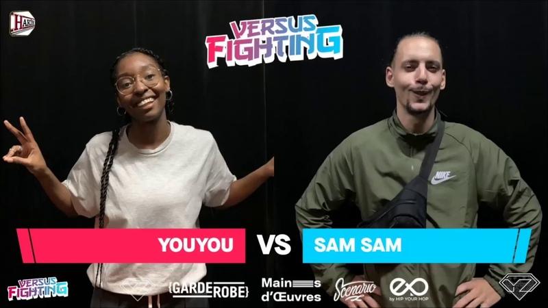SAM SAM VS YOUYOU Popping Looser Final Battle Versus Fighting 2K18 FR